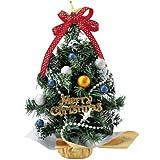 【クリスマス装飾デコレーション】リボンツリー RD(1個)  / お楽しみグッズ(紙風船)付きセット