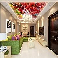 Wxmca カスタム3D壁紙カスタムマングローブ天頂壁画リビングルーム寝室ロビーラウンジ天井高品質壁紙-250X175Cm