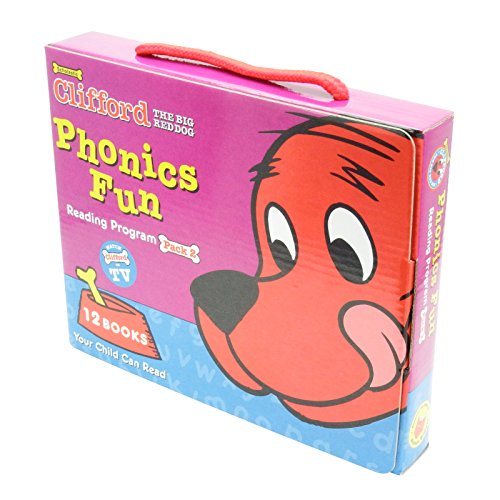 Clifford the Big Red Dog Phonics Fun Reading Program Pack 2(Clifford)の詳細を見る