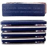 超強力ネオジム磁石板&片面粘着テープ付スチール板セット【5セット入】【型番PDB05】