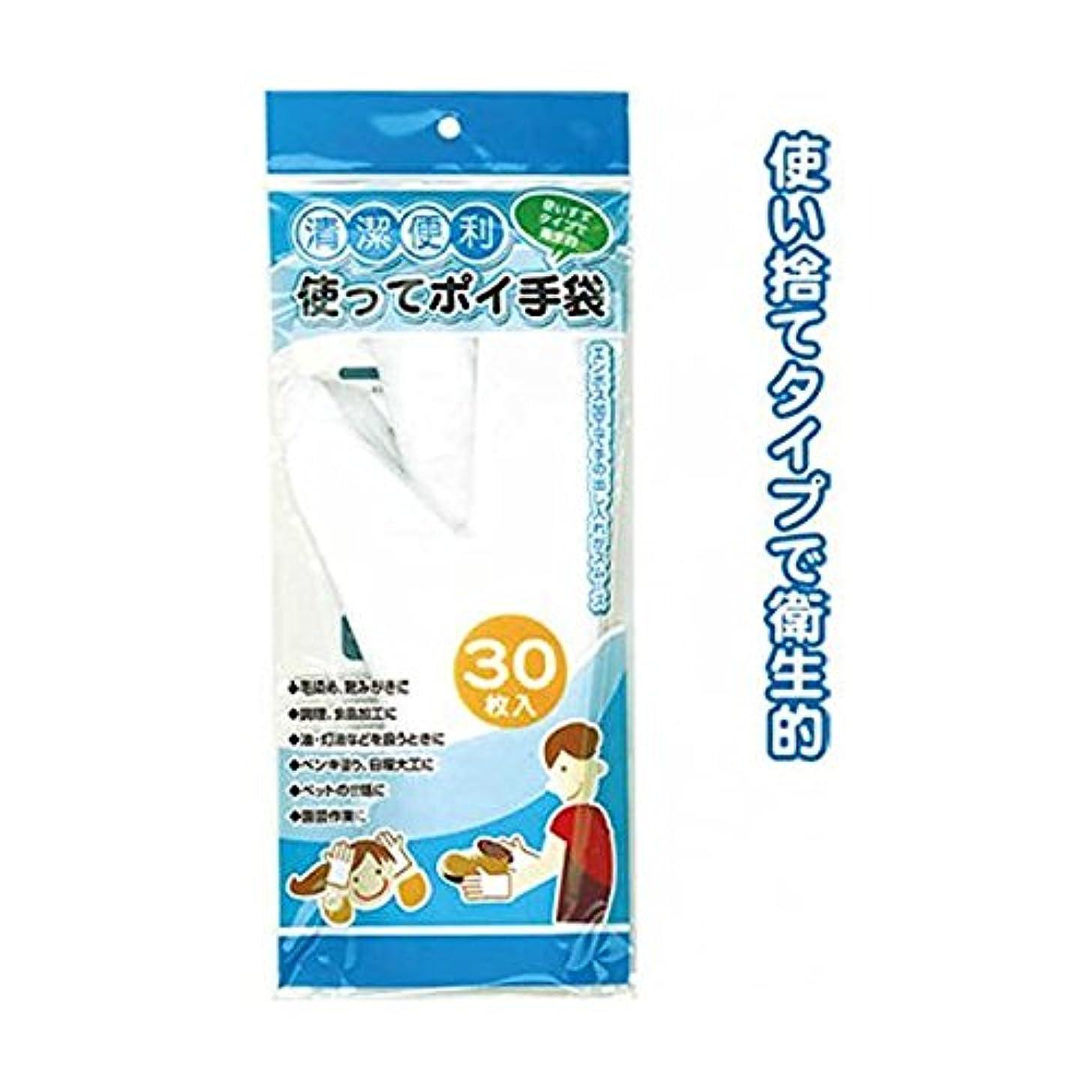 汚染正確さフレームワーク使ってポイ手袋(30枚入) 12個セット 30-159