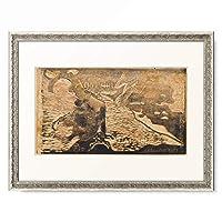 ポール・ゴーギャン Eugene Henri Paul Gauguin 「Auti Te Pape, ca. 1893–1894.」 額装アート作品