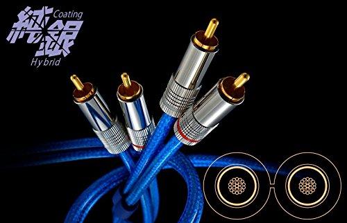 ゾノトーン RCAケーブル 1.2m ペア ZONOTONE SILVER GRANSTER AC 1001A SGSAC1001A-1.2