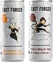 East Forged 2 Flavour Non Alcoholic Nitro Tea Mixed (Black Tea & Yuzu/White Tea & Calamansi) | 250ml |