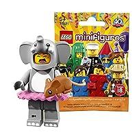 レゴ(LEGO) ミニフィギュアシリーズ 18 エレファントガール【未開封】| LEGO Collectable Minifigures Series 18 Elephant Girl 【71021-1】