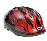 BELL(ベル) ヘルメット 自転車 サイクリング 子ども用 ZOOM2 [ズーム2 ブラック/レッドフレイムス 7072823] M/L (頭囲 52cm~56cm)