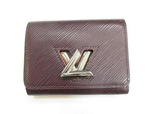 [ルイヴィトン] LOUIS VUITTON ポルトフォイユ・ツイスト 3つ折財布 財布 プルーヌ エピ M67709 [中古]