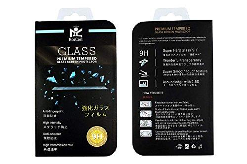 【2枚セット】RoiCiel 液晶保護強化ガラスフィルム 硬度9H 超薄0.3mm 2.5D ラウンドエッジ加工RC-2F-FRM-10 (ipad mini1/2/3)