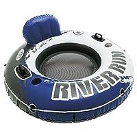 Intex River Run I Sport Lounge Inflatable Water Float 53 Diameter