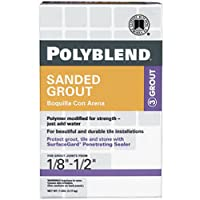 CUSTOM BLDG PRODUCTS PBG3827-4 7-Pound Bone Sanded Grout by Custom Building Products