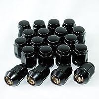 送料無料 袋タイプ ブラックナット M12 P1.25 19HEX 60度テーパー 20個