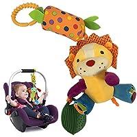 United global 音の出る お出かけ トイ ストローラー ベビーカー ドライブ 用 知育玩具 おもちゃ 出産祝い (ライオン)