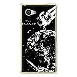 携帯電話taro docomo AQUOS Compact SH-02H/Softbank Xx2 mini 503SHケース (地球 bk) SHARP SH-02H-OCA-0267