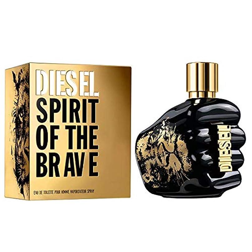 のためにフロンティア魔法Diesel Spirit Of the Brave 125 ml Eau de Toilette