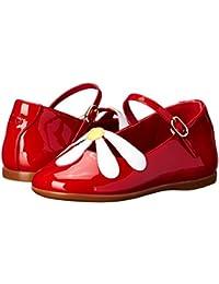 [ドルチェ&ガッバーナ] Dolce & Gabbana レディース Patent Flower Ballerina (Toddler) フラットシューズ [並行輸入品]