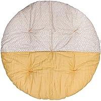 高岡 せんべい座布団 直径100cm ツートンカラー 三色あられ×金木犀