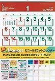 【2019年版・壁掛】 シーガル ビニールポケットカレンダー