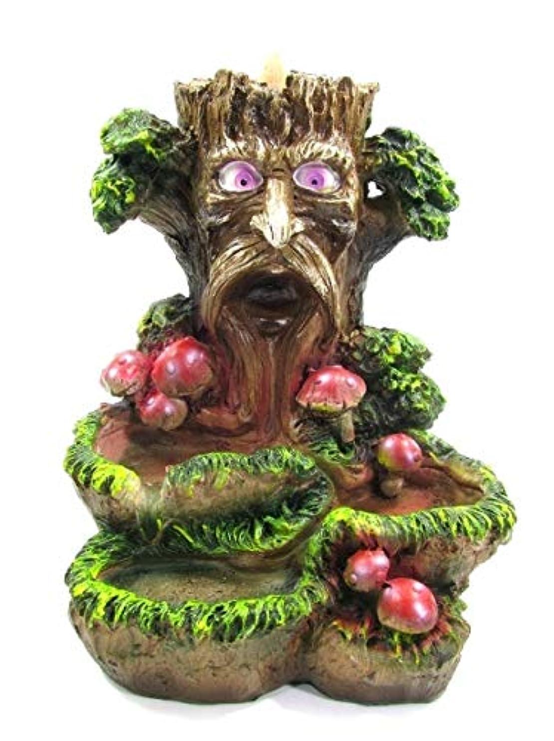 フォアマンアクセント剪断[INCENSE GOODS(インセンスグッズ)] TREE BACKFLOW INCENSE BURNER