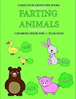 Coloring Book for 7+ Year Olds (Farting Animals)