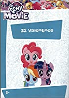 My Little Pony The Movie Kids Valentines Dayカード教室Exchange ( 32 Count )