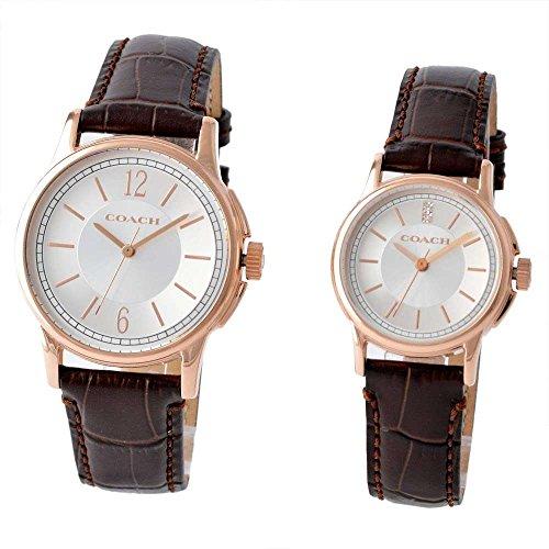 コーチ COACH 14000047 ニュークラシックシグネチャー ペアウォッチ メンズ・レディース 腕時計 [並行輸入品]