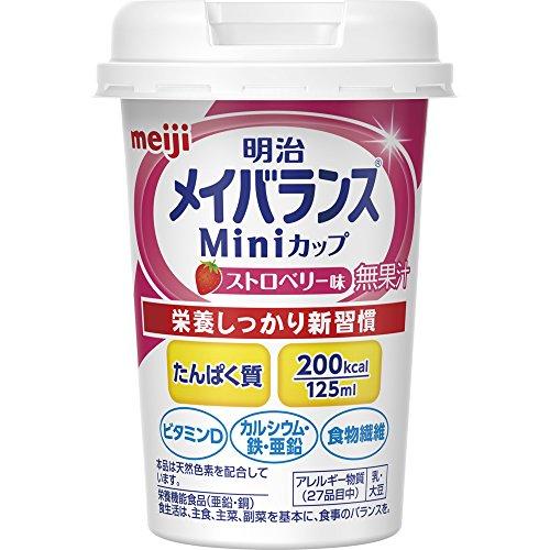 メイバランス Miniカップ ストロベリー味 125ml