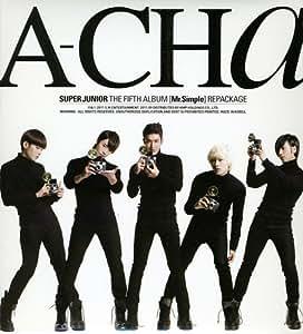 A-CHa SUPER JUNIOR 5th Album [韓国盤]