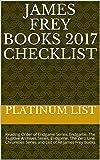 James Frey Books 2017 Checklist: Reading Order of Endgame Series, Endgame: The Fugitive Archives Series, Endgame: The Zero Lin..