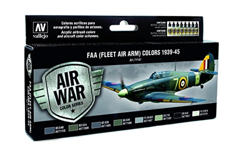 Av Vallejo Model Air Set - Raf & Faa Fleet Air 1939-45 - Arm 193945 71147
