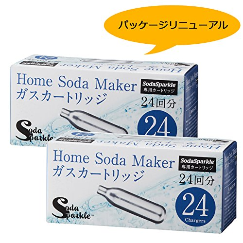 SodaSparkle ソーダスパークル 専用ガスカートリッ...