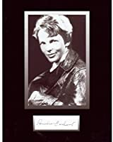 Amelia Earhart 8 X 10 Photo Autograph on光沢フォト用紙