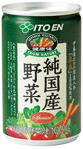 伊藤園 健康体 純国産野菜 160g×30本入