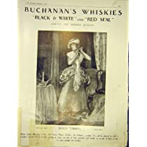 Buchanan のウィスキー広告トロッコの Varden の古い印刷物 1913 年