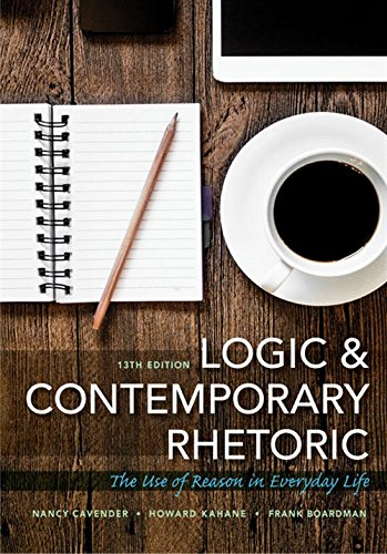 Download Logic and Contemporary Rhetoric: The Use of Reason in Everyday Life 1305956028