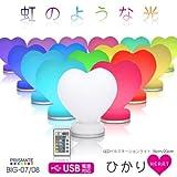 LEDイルミネーションライト ひかり Heart 15cm BIG-07