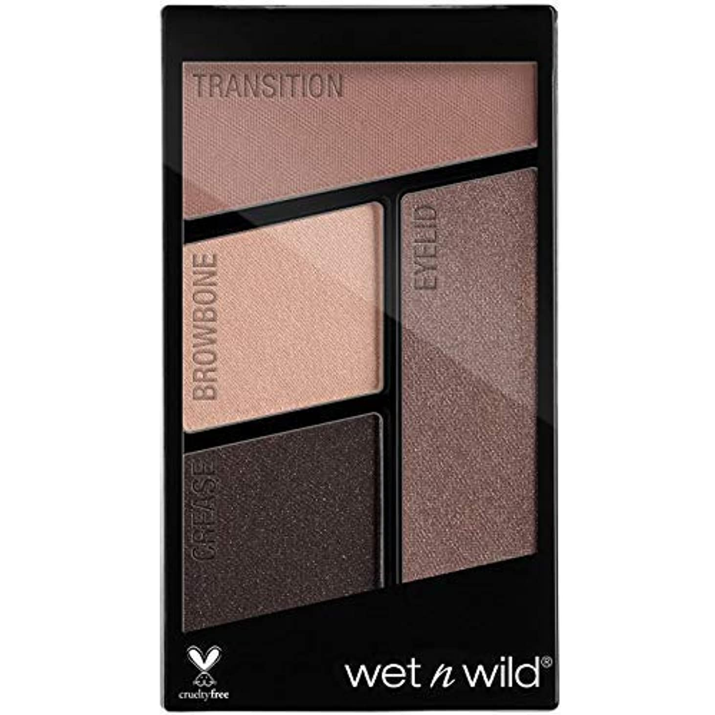 構成するシュート捨てるWET N WILD Color Icon Eyeshadow Quad - Silent Treatment (並行輸入品)