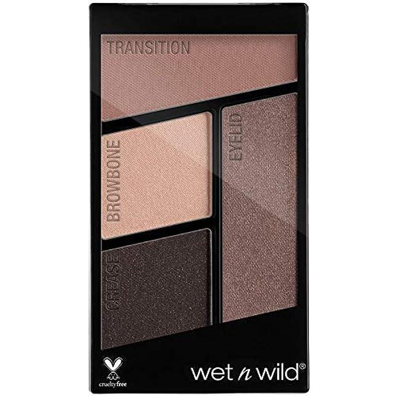 抵抗力がある忘れられない実験をするWET N WILD Color Icon Eyeshadow Quad - Silent Treatment (並行輸入品)