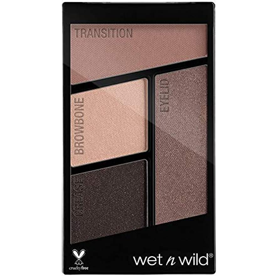 認可セブンピアースWET N WILD Color Icon Eyeshadow Quad - Silent Treatment (並行輸入品)
