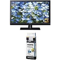 パナソニック 24V型 ハイビジョン 液晶 テレビ VIERA TH-24D325 + ハイスピードHDMIケーブル 1.5m ブラック RP-CHE15-K セット