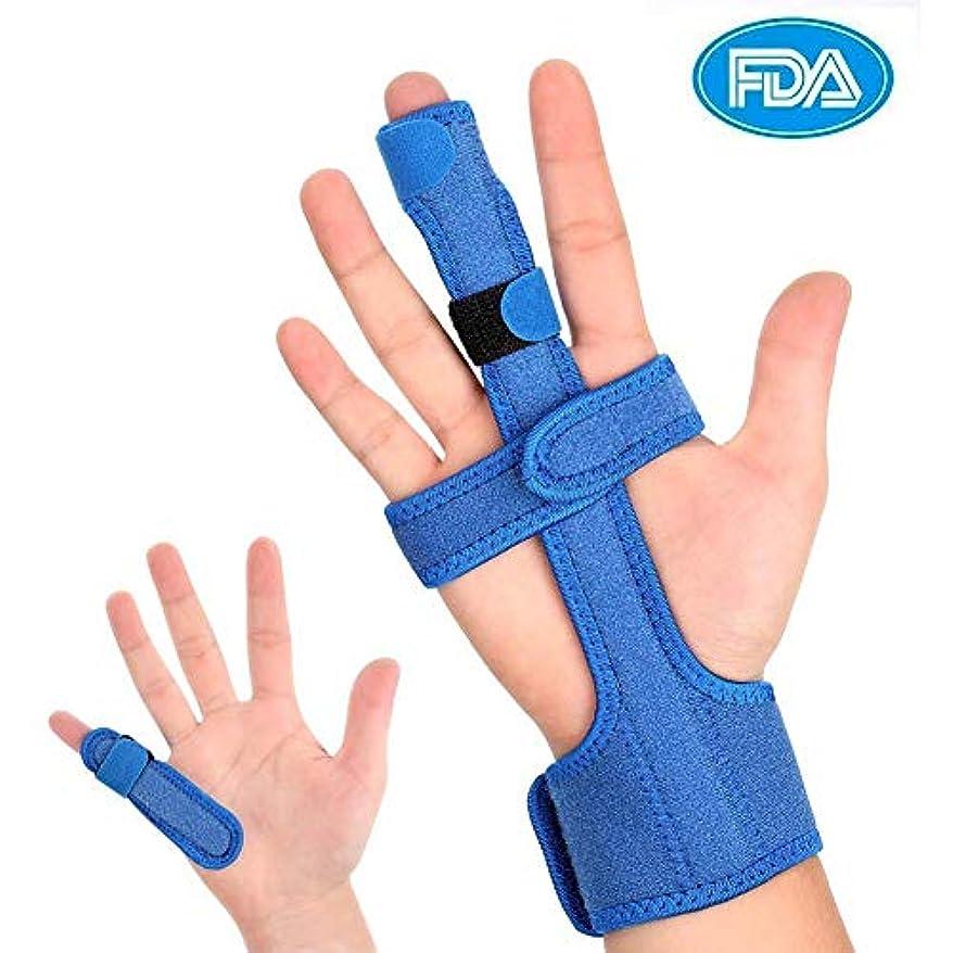 Doact 指 サポーター ばね指 突き指 腱鞘炎 関節症 捻挫 骨折 脱臼 フィンガーラップ スポーツ すべての指適応 指の固定 通気性抜群 左右兼用 フリーサイズ 調節可能