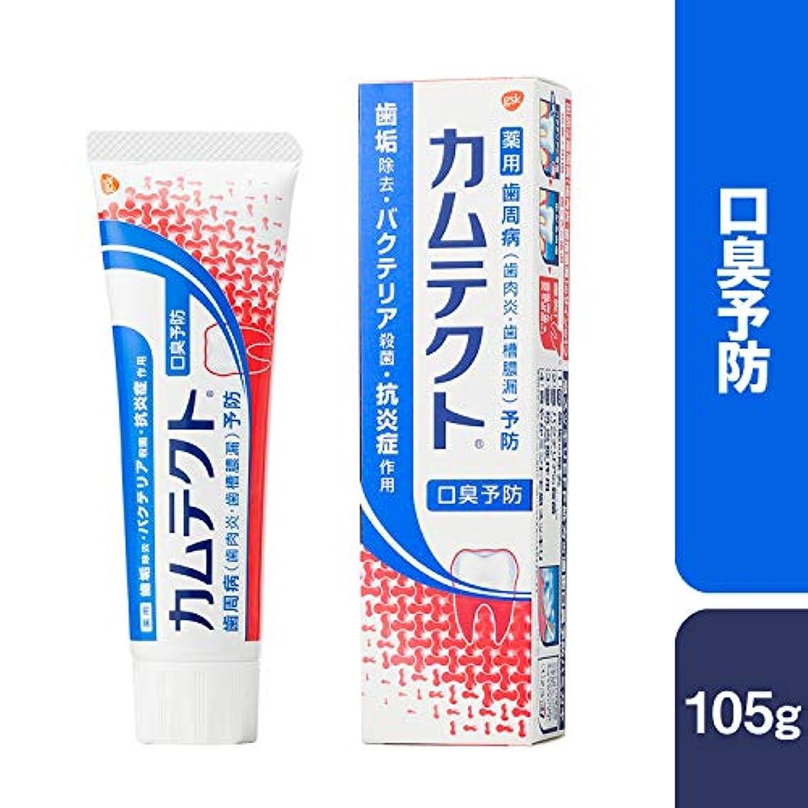 マニア弱点爆風[医薬部外品]カムテクト 口臭予防 歯周病(歯肉炎?歯槽膿漏) 予防 歯みがき粉 105g