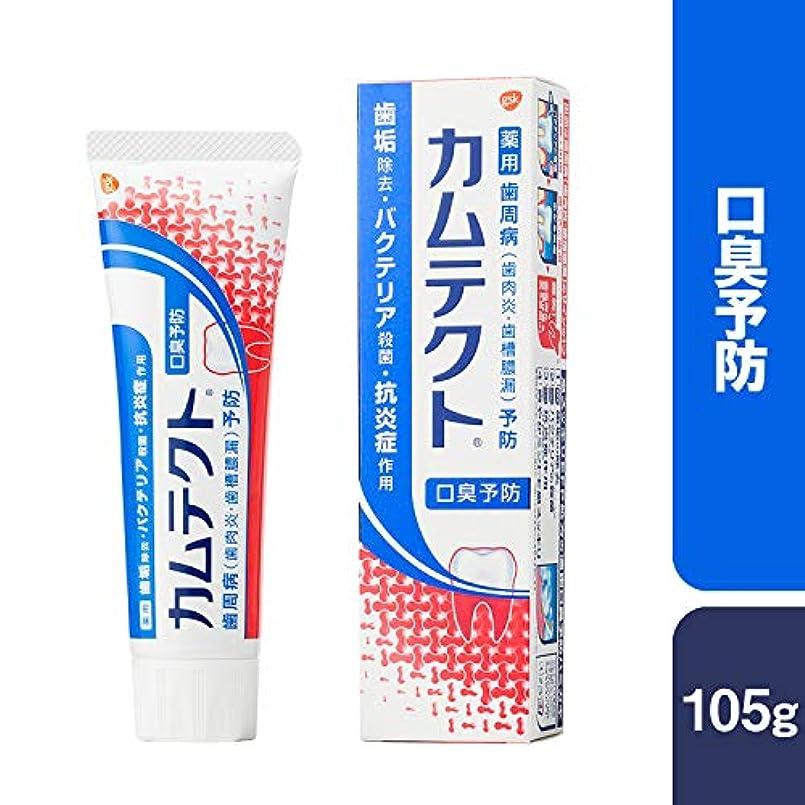 ショルダー南砂[医薬部外品]カムテクト 口臭予防 歯周病(歯肉炎?歯槽膿漏) 予防 歯みがき粉 105g
