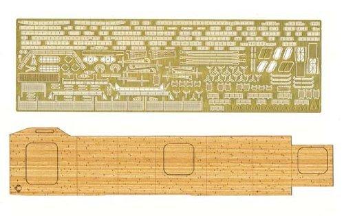 1/700 ウォーターライン 空母 蒼龍用 木製甲板シート&エッチングパーツセット