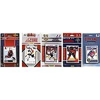 NHLフロリダ州パンサーズ5異なるLicensed Tradingカードチームセット、ブラウン、1サイズ