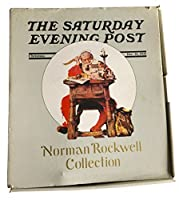 The Saturday Evening Post Norman RockwellコレクションクリスマスDec。21, 1935サンタ句Porcelain Doll New In Package 1985Curtis発行会社