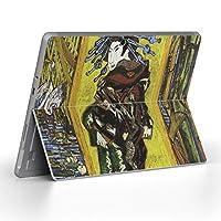 Surface go 専用スキンシール サーフェス go ノートブック ノートパソコン カバー ケース フィルム ステッカー アクセサリー 保護 クール 写真・風景 和風 和柄 人物 003225