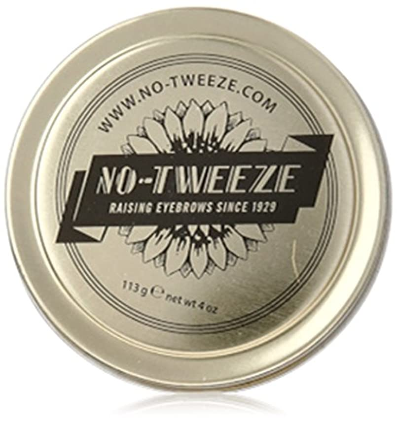 ぬいぐるみヘルシー拮抗するno-tweeze Classic Remover Wax, 4 Ounce by no tweeze