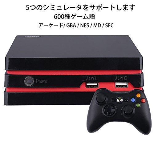 Whatsko アップグレード版 テレビゲーム機 HDMI 家庭アーケードゲーム機 MD GBA互換機 ワイヤレスコントローラ 4Kテレビサポート