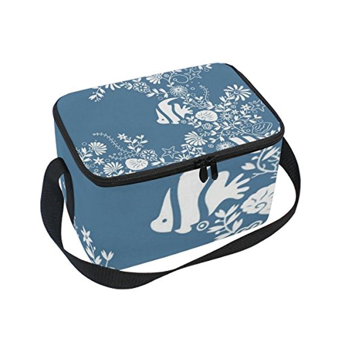 浮く評論家つかまえるクーラーバッグ クーラーボックス ソフトクーラ 冷蔵ボックス キャンプ用品 魚柄プリント 保冷保温 大容量 肩掛け お花見 アウトドア