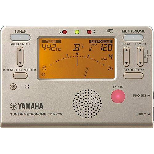 ヤマハ チューナー/メトロノーム ゴールド YAMAHA TDM-700G